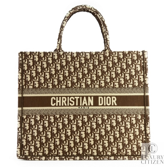 7b9ece8712d4 NEW SOLD OUT 2018 DIOR BOOK TOTE OBLIQUE MONOGRAM